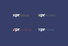 XPR. Corporate identity. on Behance