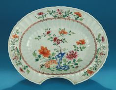 Antiques & Fine Art - Creech, M. Ford Antiques & Fine Arts - CHINESE EXPORT FAMILLE ROSE BARBER'S BOWL Qianlong, c1765