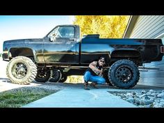 My truck got NEW SHOES!!! - YouTube