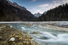 Triglav, Slovenia photographing with a Nikon D810 with 21mm Carl Zeiss. Cable release with mirror lock-up and using a Lee ND plus soft grad. 64 ISO.