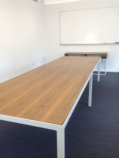 $2000 + shipping 12' x 4' Contemporary Chelsea Conference Table & Credenza