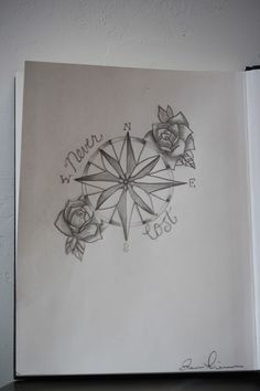 I love the though of a compass tattoo. I would want to design my own though