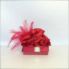 Favor Box Jewelry Gift Box Red Gift BoxesWedding by WrapsodyandInk