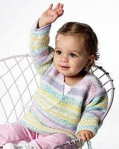Baby Knit Kimono   FaveCrafts.com