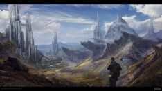 MOUNTAINS CITY by Byzwa-Dher on DeviantArt