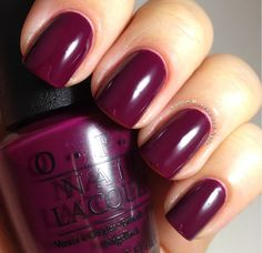 In The Cable Car-Pool Lane: Good golly, Miss Trolley, this rich burgundy takes me away! Purple-burgundy creme
