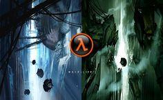 Videojuego Half-life  Fondo de Pantalla
