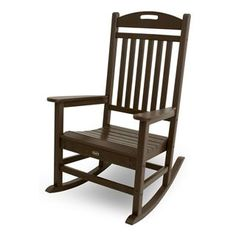 Trex Outdoor Furniture Txr100 Yacht Club Outdoor Rocking Chair