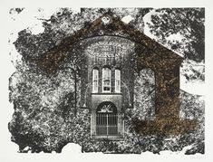 """Llangloffan, Pembrokeshire: the Baptist Chapel"" byJohn Piper, 1964"