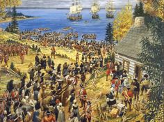The expulsion of Acadians from Nova Scotia was the forced removal of the Acadian from Nova Scotia (prince Edward island) by the French. -https://en.wikipedia.org/wiki/Expulsion_of_the_Acadians