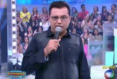 Após reclamar da Record no ar, Geraldo Luís é suspenso do Domingo Show