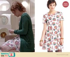 Lydia's white floral dress on Teen Wolf.  Outfit Details: http://wornontv.net/35864/ #TeenWolf