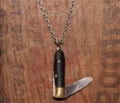 Knife Necklace for Survival Adventures
