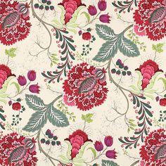 Casandra 1 - Cotton - Polyester - red