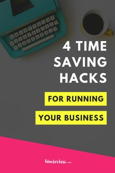 Ever feel like there just aren't enough hours in the day?! Then click through to listen to this short & sweet episode because I'm sharing my TRIED and TRUE 4 time saving hacks for running your online biz as EFFICIENTLY and EFFECTIVELY as possible! #productivitytips #timemangementtips #onlinebusinesstips #entrepreneurtips