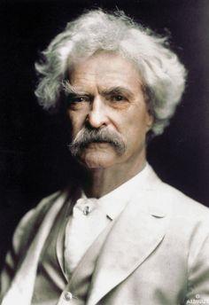 R.I.P. November 30, 1835 - Apr 21, 1910 Mark Twain