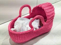 baby bed crochet / steps / سرير بيبي كروشيه / خطوات
