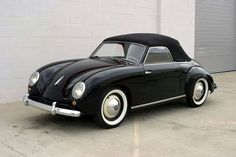 Volkswagen Dannenhauer. Only 18 known to exist. Porche + VW = Perfection <3<3<3
