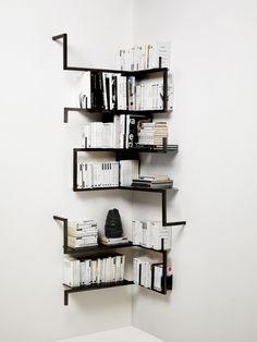 minimalism. bookshelves. Reading.