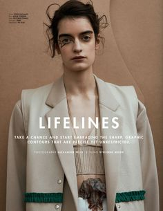 lifelines: celine delaugere by alexandre felix for l'officiel malaysia march 2016 | visual optimism; fashion editorials, shows, campaigns & more!