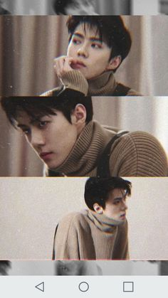 Shared by ✨Na Hera. Find images and videos about exo, baekhyun and sehun on We Heart It - the app to get lost in what you love. Baekhyun Chanyeol, Park Chanyeol, Exo Music, L Wallpaper, Exo Songs, Sehun Cute, Exo Lockscreen, Kim Minseok, Korean Boy