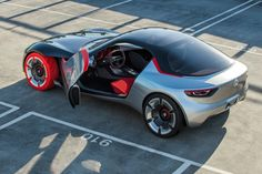 Opel's New GT Concept Is A 143 HP Highlight Of The Future (Updated)
