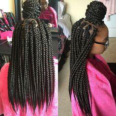 Jumbo box braids                                                                                                                                                      More