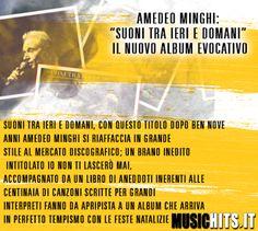 Nuovo album e progetto per +amedeo minghi