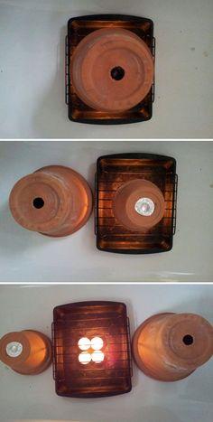 Tea Lights Heater