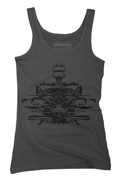 Atomic Disassembly Womens Tank Top