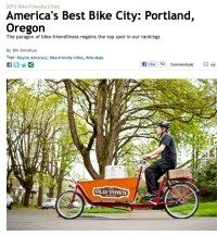 BikePortland.org » Blog Archive » Portland reclaims #1 spot in Bicycling Mag rankings