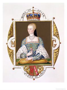 "Mary of Guise 1515–1560-Queen consort of Scotland & mother of Mary, Queen of Scots. 1st Mary married Louis II d'Orléans, Duke of Longueville. The union was happy, but brief. James V had noticed the attractions of Mary when he went to France to meet Madeleine, & Mary was next in his affections.  James's mother Margaret Tudor wrote to Henry VIII, ""I trust she will prove a wise Princess. I have been much in her company, & she bears herself very honourably to me, with very good entertaining."""