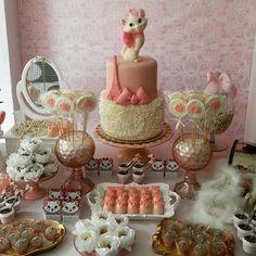 Marie Aristocats Birthday Party