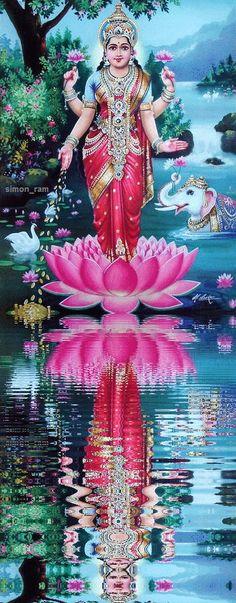 Indian Goddess, Goddess Lakshmi, Lord Murugan Wallpapers, Lakshmi Images, Lord Shiva Family, Shiva Shakti, Shiva Hindu, Divine Mother, Hindu Deities