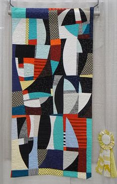 BDwyerAWoodhead1 by Luana Rubin - dozens of pics from QuiltCon on this Flickr site