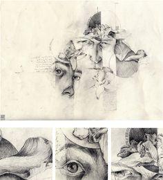 DRAWINGS : simonprades.com Artist Sketchbook, Sketchbook Ideas, Sketchbook Inspiration, Ap Studio Art, Art Terms, Illustration Art, Illustrations, Ap Art, Beautiful Drawings