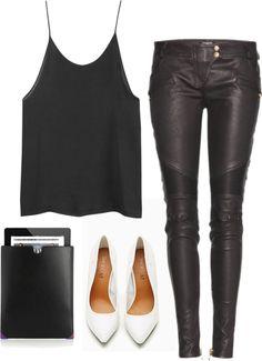 fashionfever:  W. by sophialindstroem featuring a black shirt
