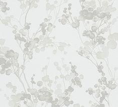 A.S. Creation Tapeta ścienna As Creation 30056-4 gałązki WYPRZEDAŻ 30056-4 tapetyonline.pl Forest Wallpaper, Grey Flowers, Ceramics Projects, Logo Inspiration, Creations, Pattern, Design, Home Decor, Girl Room