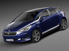 Citroen DS5 2016 by SQUIR on Creative Market