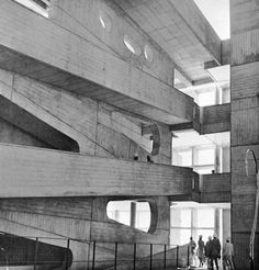 High Court, Chandigarh, India, 1950-54 - Le Corbusier