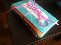 Open when letters, crafts, DIY, do it yourself, boyfriend, artsy, gift, surprise, scrapbook paper