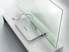 Transparent TV from Samsung - very sleek and modern.