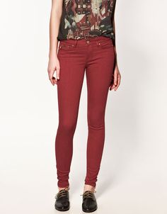 SKINNY TROUSERS WITH ZIP - Trousers - Woman - ZARA