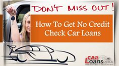 No credit check car loans Credit Check, Car Finance, Car Loans, Free Quotes, Get Started, How To Get, Youtube, Youtubers, Youtube Movies