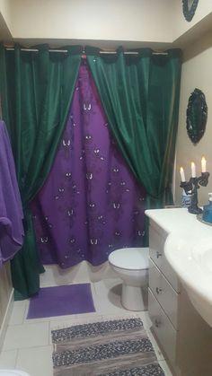 My Haunted Mansion  Halloween bathroom