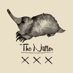 Check out this awesome 'The Niffler!  Fantastic Beasts and Where to Find Them!' design on @TeePublic!