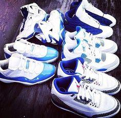 new arrival fb1fe 48bc4 Jordans  blue Blue Jordans, Air Jordans, Jordan 3, Jordan Shoes, Types