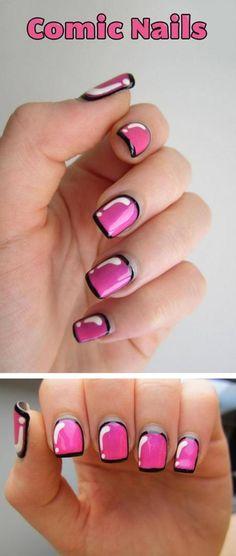 Comic Nails…