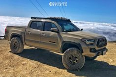 """2017 Toyota Tacoma - 16x8 -12mm - Stealth Custom Series BR6 - Suspension Lift 2.5"""" - 295/75R16 2017 Toyota Tacoma, Tyre Brands, Aftermarket Wheels, Custom Trucks, Performance Parts, Monster Trucks, Gallery, Roof Rack"""