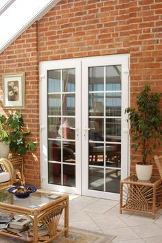 double sized French doors   our new home.   Pinterest   Doors ...